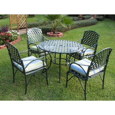 Diamond Lattice 5 Piece Dining Set photo