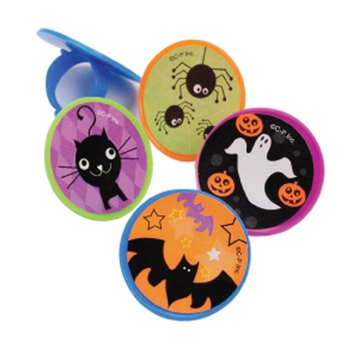 Halloween Mini Glitter Yo-Yo's