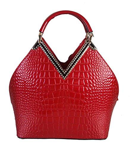 rimen-co-medium-shiny-patent-animal-print-handbag-with-gold-metal-and-crystal-decor-woman-handbag-ac
