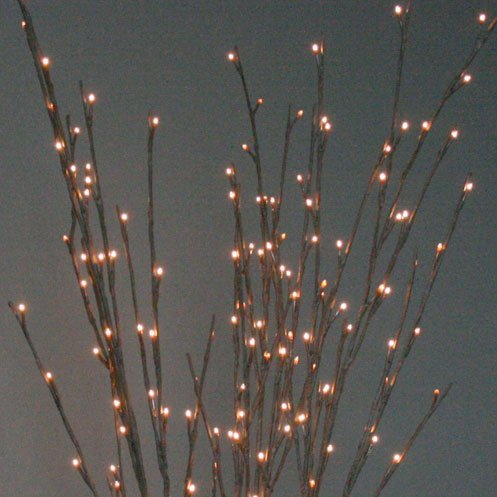 The Light Garden WLWB96 Electric/Corded Willow Branch with 96 Incandescent Lights, 40 Inch (Electric Branch Lights compare prices)