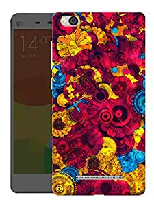 "Humor Gang Abstract Pattern Printed Designer Mobile Back Cover For ""Xiaomi Redmi Mi4i"" (3D, Matte, Premium Quality Snap On Case)"
