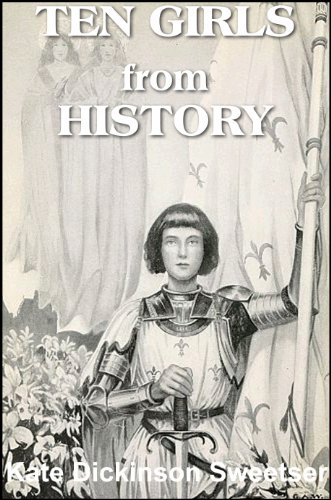 Large book cover: Ten Girls from History