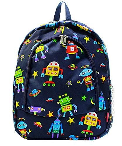 Cartoon Robots Backpack