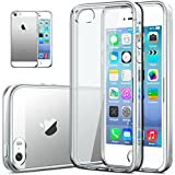 iPhone 5S Case, DACHUI Clear Apple iPhone 5S Protective Transparent Slim Case Anti-Scratch Ultra Thin Felxible Premium TPU Cover Stylish ECO-Friendly Packaging - Ultra Slim Back Bumper Case for iPhone 5S(Transparent)