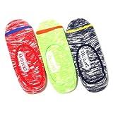 (アウトドアプロダクツ)Outdoor Products カラースラブフットカバーソックス・3足セット/メンズ