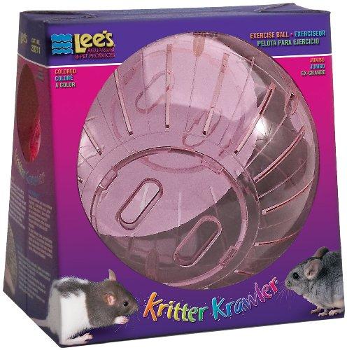 Lee's Kritter Krawler Jumbo Exercise Ball, 10-Inch, (Random colors) 518uX1jmZdL