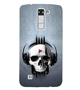 EPICCASE Skull music Mobile Back Case Cover For LG K10 (Designer Case)