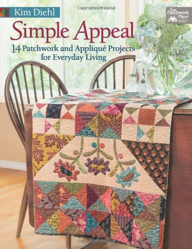 Review Simple Appeal: 14 Patchwork and Appliqué Projects for Everyday Living