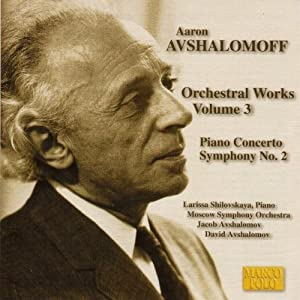 Avshalomoff Orchestral Works Vol3 by Marco Polo