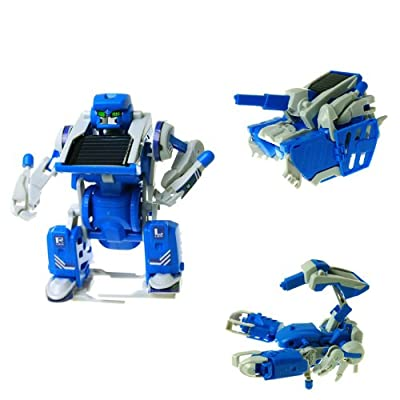 ChineOn DIY 3IN1 Educational Solar Power Module Panel Kit Robot Tank Scorpion Creative Toy