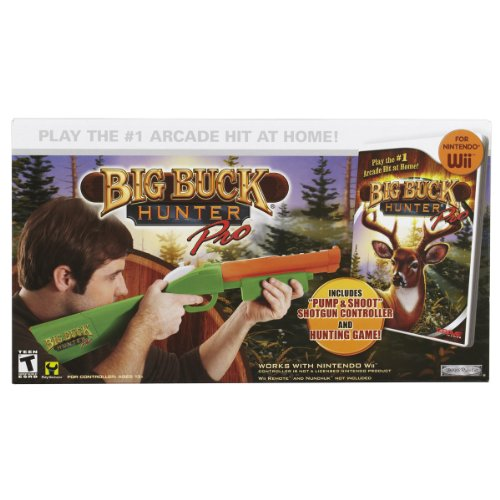 wii big buck hunter