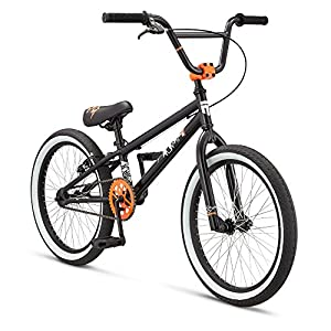 Mongoose Boy's LSX Bicycle, 20-Inch, Matte Black