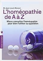 HOMEOPATHIE DE A A Z
