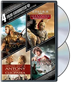 4 Film Favorites: Epic Adventures (Alexander: Director's Cut, Antony & Cleopatra, Clash of the Titans, Troy) from Warner Home Video