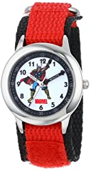 Marvel Kids' W000132 Thor Stainless Steel Time Teacher Watch