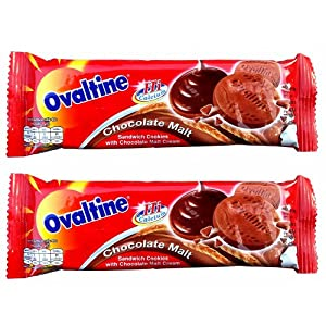 Amazon.com: Ovaltine Sandwich Cookies with Chocolate Malt Cream Hi ...