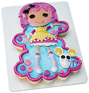 Cake Decorating Kit Of The Month : Amazon.com: LALALOOPSY Birthday Party CAKE Cupcake ...