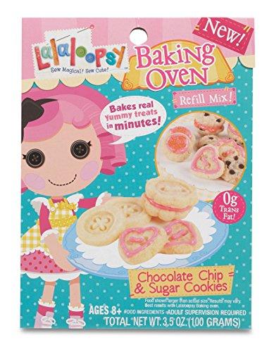 Lalaloopsy Baking Oven Mix- Chocolate Chip & Sugar Cookies - 1