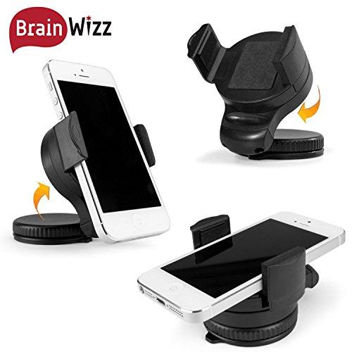 brainwizz support voiture auto universel windshield avec fixation pare brise et tableau de. Black Bedroom Furniture Sets. Home Design Ideas