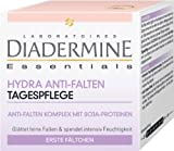 Diadermine Essentials Lot de 3 crèmes de jour avec complexe hydratant anti rides et protéines de soja 50ml