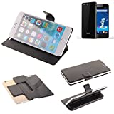 Haier Phone L53 Flipcover Schutz Hülle, schwarz |