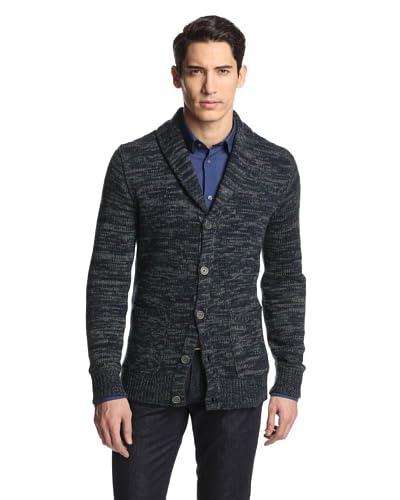 John Varvatos Men's Star U.S.A. Shawl Collar Button Front Cardigan