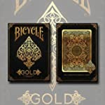 Bicycle Gold Deck by US Playing Cards...