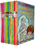 Francesca Simon Horrid Henry Collection 11 Books Set RRP:£54.89(Horrid Henry's Haunted House, Stinkbomb, the Secret Club, Horrid Henry, the Mummy's Curse, the Bogey Babysitter, the Mega-Mean Time Machine, Meets the Queen, Underpants, Gets Rich Quick, Jo