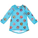 Komar Kids Blue Peace Sign Nightgown For Girls