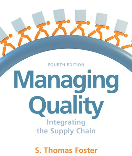 Managing Quality (4th Edition)