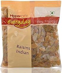 Hypercity Everyday Dry Fruits - Raisins Indian, 200g Pack