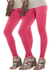 LUX Lyra Romantic Rani Ankle Length Leggings_Set Of 2