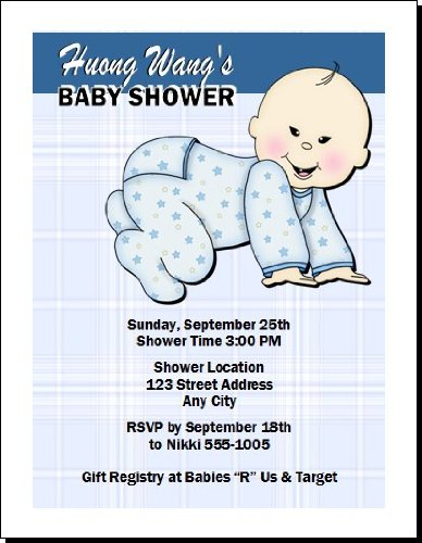 Baby Shower Invitation Images front-954739