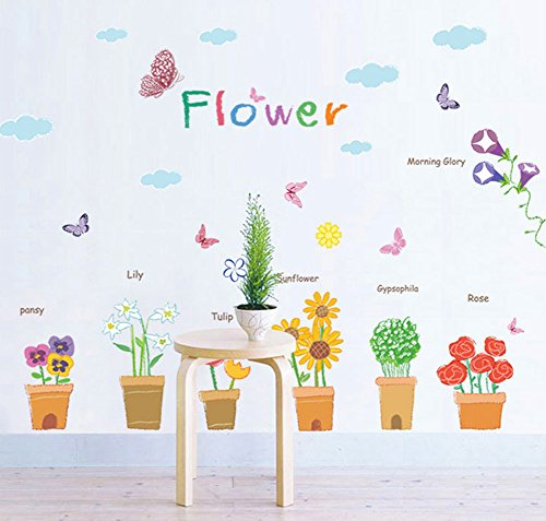 wallpark-fresco-flores-en-maceta-mariposas-desmontable-pegatinas-de-pared-etiqueta-de-la-pared-sala-