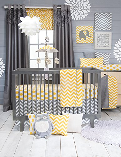 Sweet Potato Crib Bedding Set, Swizzle, 3 Piece - 1