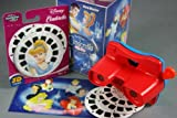 Cinderella Gift Set - ViewMaster - 3 Reel Set, Viewer, Magic Princess Postcard