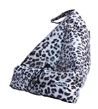 The Book Seat Leopard Book/Ipad/E-Reader Holder