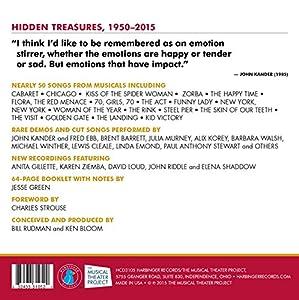 John Kander: Hidden Treasures, 1950-2015