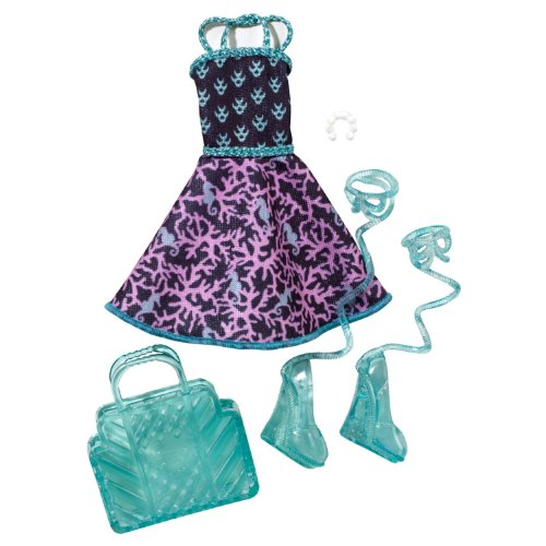 monster high fashion	pack  lagoona blue