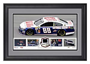 Dale Earnhardt Jr. Framed Panoramic with Race-Used Tire-Limited Edition of 500 - -... by Sports Memorabilia