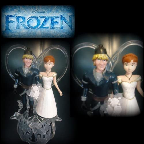 Amazon.com: Disney Frozen movie Wedding Cake Topper Anna