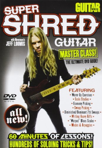 Andy Aledort - Guitar World: Super Shred Guitar Masterclass (DVD)
