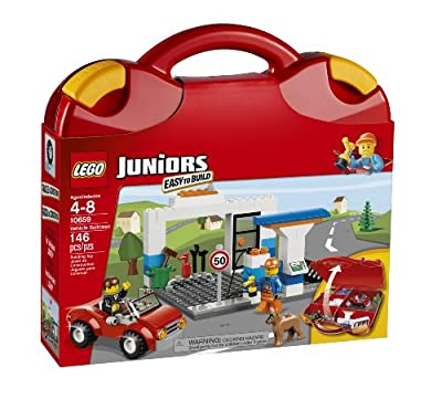 LEGO Juniors 10659 Vehicle Suitcase by LEGO Juniors