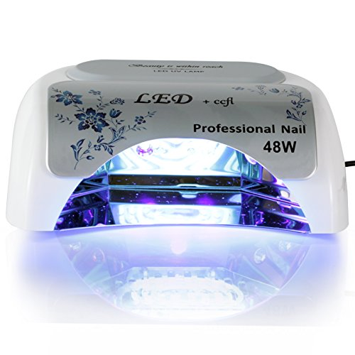 Roleadro 48w LED&CCFL Nail Dryer Suitable for Drying LED&UV Gel (Uv Led Gel Lamp compare prices)