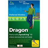 Dragon NaturallySpeaking Preferred Wireless 10.0 (PC DVD)by Nuance Communications,...