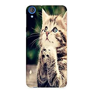 Ajay Enterprises Prey Kitty Back Case Cover for HTC Desire 820