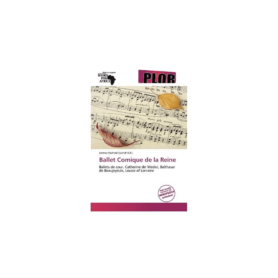 Comique de la Reine (9786136263427) Lennox Raphael Eyvindr Books
