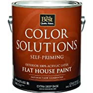 - CS45W0803-16 Color Solutions Latex Flat Self-Priming Exterior House Paint