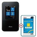 NEC Aterm MR03LN【OCN モバイル ONE マイクロSIM付きセット】LTE対応 SIMフリーモバイルルーター 月額900円(税抜)~