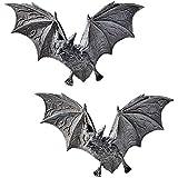 Design Toscano The Vampire Bats of Castle Barbarosa Wall Sculptures - Set of 2